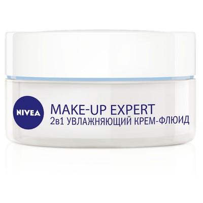 Крем-флюид Nivea Make Up Expert 2 в 1, для нормальной и комбинированной кожи, 50 мл