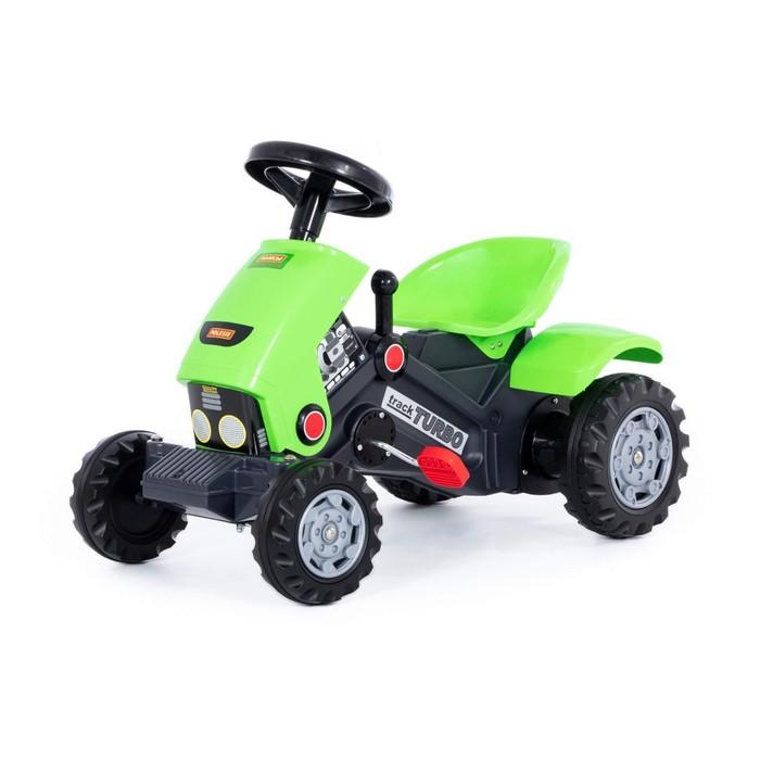 """Каталка-трактор с педалями """"Turbo-2"""" с клаксоном"""