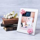 Декоративная фоторамка–панно «Идеальная жена» с цветами, 15 × 20 см