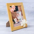 Декоративная фоторамка–панно «Самой нежной» с цветами, 15 × 20 см