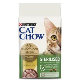 Сухой корм CAT CHOW для стерилизованных кошек, 1.5 кг