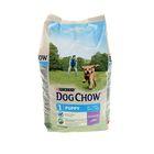 Сухой корм DOG CHOW PUPPY для щенков, ягненок, 2.5 кг