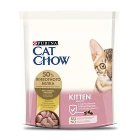 Сухой корм CAT CHOW KITTEN для котят, птица, 400 г