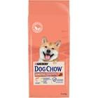Сухой корм DOG CHOW SENSITIVE для собак с чувствительным пищеварением, лосось, 14 кг