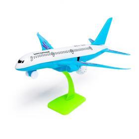 Самолёт инерционный «Авиалайнер», цвета МИКС Ош