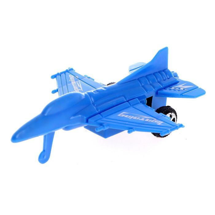 Самолёт инерционный Бомбардировщик, цвета МИКС