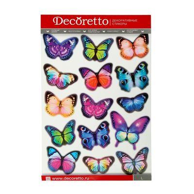 """Наклейки интерьерные """"Вечерние бабочки"""" - Фото 1"""