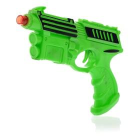 Пистолет «Супер пушка», световые и звуковые эффекты, работает от батареек, цвета МИКС Ош