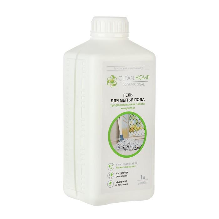 Гель для мытья линолеума и кафеля Clean home универсальный, 1л