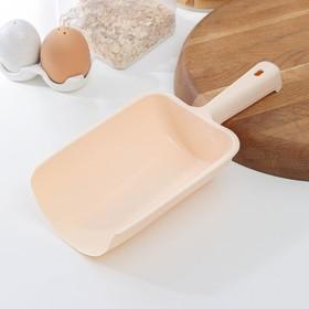 Совок для сыпучих продуктов, 1 л, цвет МИКС