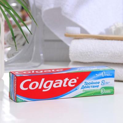 Зубная паста Colgate «Тройное действие», 50 мл