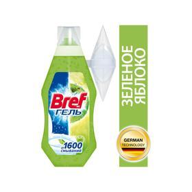 Гель для чистки и свежести унитаза Bref WC-Gel «Зелёное яблоко», 360 мл