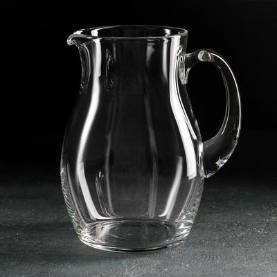 Кувшин НЕМАН «Прозрачный», 1,5 л, без крышки - Фото 1