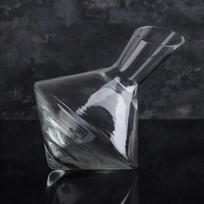 Графин для вина с косым срезом НЕМАН, 1,5 л - Фото 1