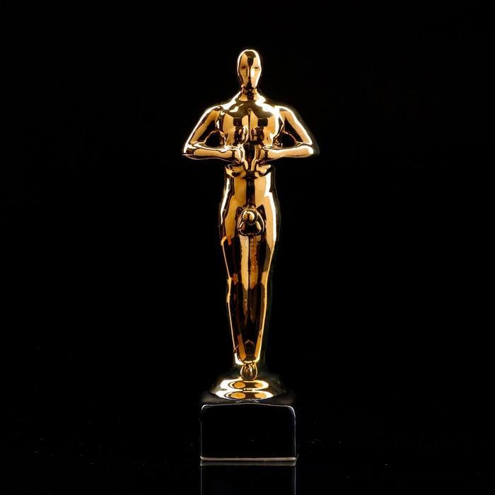 """Статуэтка """"Оскар-самец"""", покрытие булат, под нанесение, 25 см"""