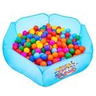 Шарики для сухого бассейна с рисунком, диаметр шара 7,5 см, набор 90 штук, разноцветные - Фото 1