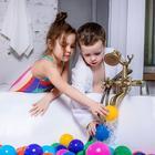 Шарики для сухого бассейна с рисунком, диаметр шара 7,5 см, набор 90 штук, разноцветные - Фото 7