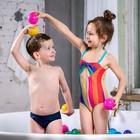 Шарики для сухого бассейна с рисунком, диаметр шара 7,5 см, набор 150 штук, разноцветные - Фото 2