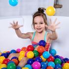 Шарики для сухого бассейна с рисунком, диаметр шара 7,5 см, набор 150 штук, разноцветные - Фото 3