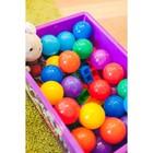 Шарики для сухого бассейна с рисунком, диаметр шара 7,5 см, набор 60 штук, разноцветные - Фото 13