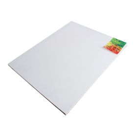 Холст на подрамнике, лён 100%, акриловый грунт, 2 х 50 х 60 см, мелкозернистый, 180 г/м²