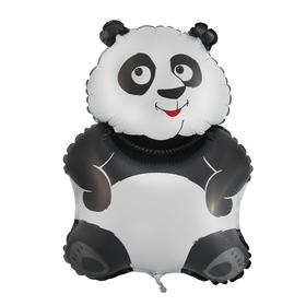 """Шар фольгированный 12"""" «Панда» для палочки"""