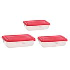 Набор контейнеров пищевых Plast team Polar, 3 шт: 900 мл; 1,9 л; 3 л, цвет МИКС - Фото 5