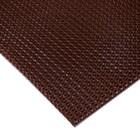 Покрытие ковровое щетинистое «Травка», 60×90 см, цвет тёмный шоколад - Фото 4