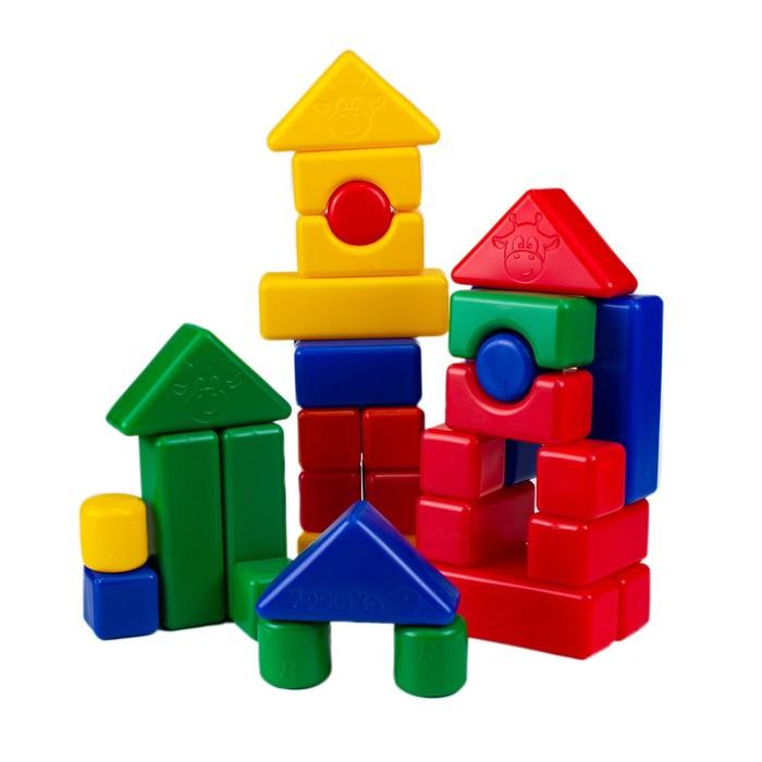 Строительный набор, 4 х 4 см, 38 элементов
