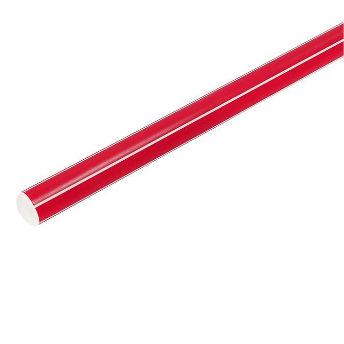 Палка гимнастическая 70 см, цвет: красный