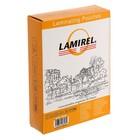 Пленка для ламинирования 100шт Lamirel 75x105мм, 125мкм
