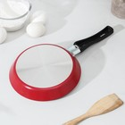 Сковорода блинная Colibri, d=18 см, антипригарное покрытие, цвет красный - Фото 3