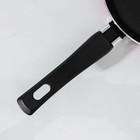 Сковорода блинная Colibri, d=18 см, антипригарное покрытие, цвет красный - Фото 4