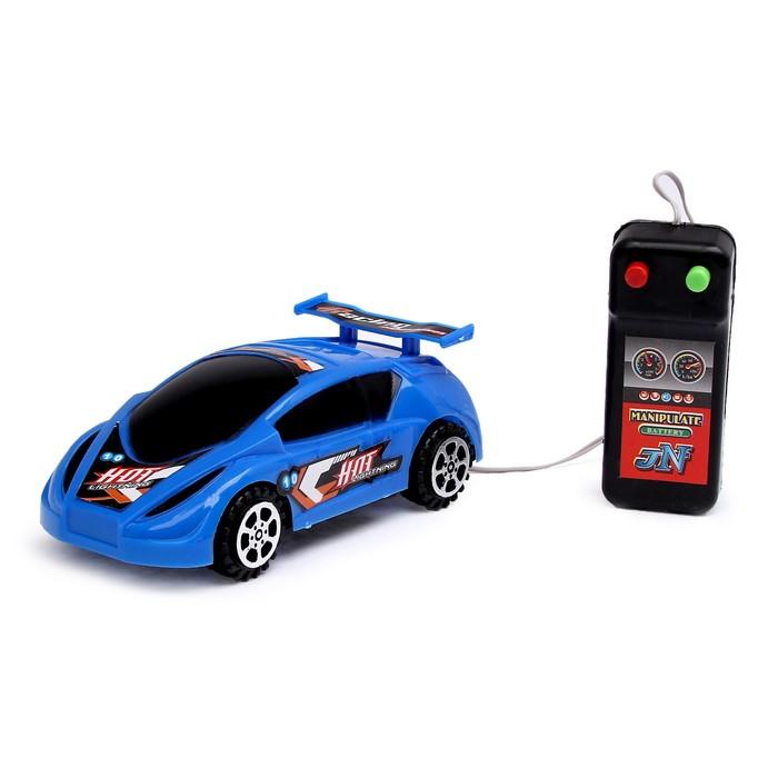 Машина «Гонка», работает от батареек, на дистанционном управлении, цвета МИКС