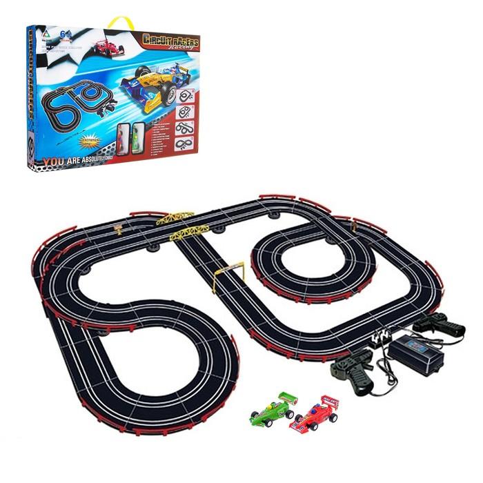 """Автотрек """"Супер гонки"""", с 2 машинами, управление от дистанционного пульта"""