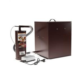 Коптильня холодного копчения 'Дым Дымыч' 01М, дымогенератор, 32 л, коричневая Ош