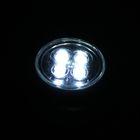 Светильник-пушлайт PL-4led-silv серебро 1,5Вт 3ААА 7см - Фото 2