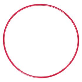 Обруч, диаметр 80 см, цвет красный Ош