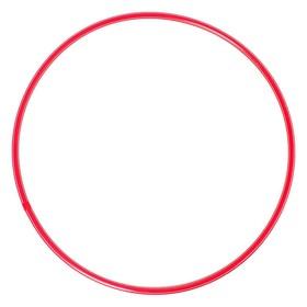 Обруч, диаметр 70 см, цвет красный Ош