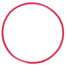 Обруч, диаметр 60 см, цвет красный Ош