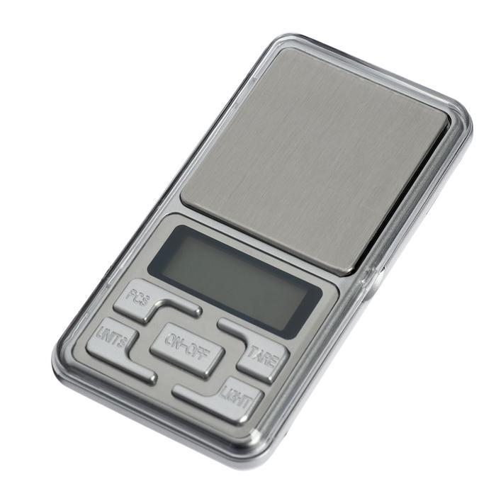 Весы LuazON LVU-01, портативные, электронные, до 500 г, серые
