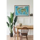 Интерактивная карта Мира для детей «Животный и растительный мир Земли», 101 х 69 см, ламинированная - Фото 3
