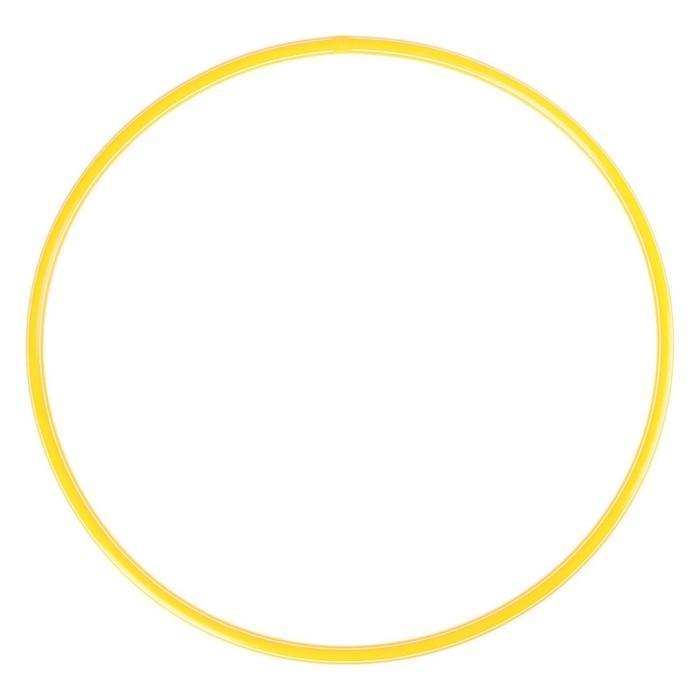Обруч, диаметр 90 см, цвет жёлтый