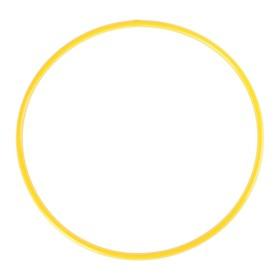 Обруч, диаметр 70 см, цвет жёлтый Ош