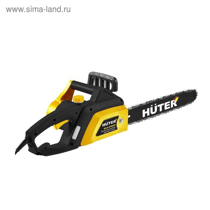 "Электропила Huter ELS-2000P, 2000 Вт, 40 см (16""), шаг 3/8"", паз 1.3 мм, 57 звеньев"