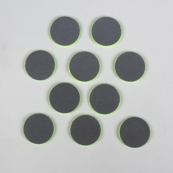Светоотражатель фигурный, d = 35 мм, набор 10 шт, цвет МИКС