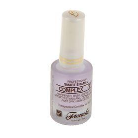 Комплекс 7 для ногтей Умная эмаль Frenchi женьшень кальций протеин алоэ витамины В и Е, 11 мл   1245
