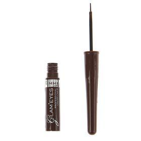 Подводка для глаз Rimmel Glam'eyes Professional Liquid Eyeliner - VELVET BROWN №002