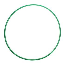 Обруч, диаметр 80 см, цвет зелёный Ош
