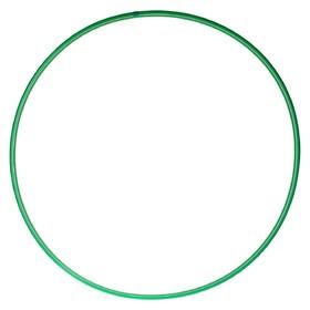 Обруч, диаметр 70 см, цвет зелёный Ош